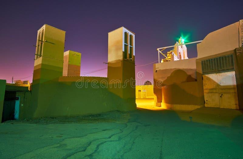 Υδραγωγείο σε παλαιό Yazd στοκ φωτογραφίες με δικαίωμα ελεύθερης χρήσης