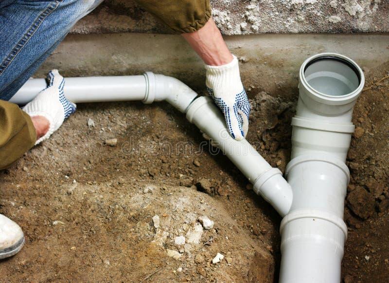 Υδραυλικός στοκ εικόνα με δικαίωμα ελεύθερης χρήσης