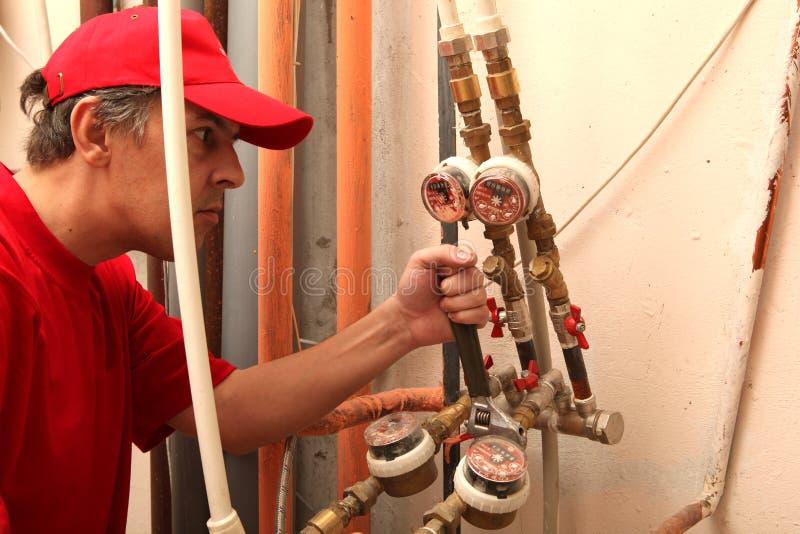 υδραυλικός στοκ φωτογραφία