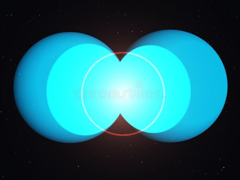 υδρογόνο τήξης διανυσματική απεικόνιση