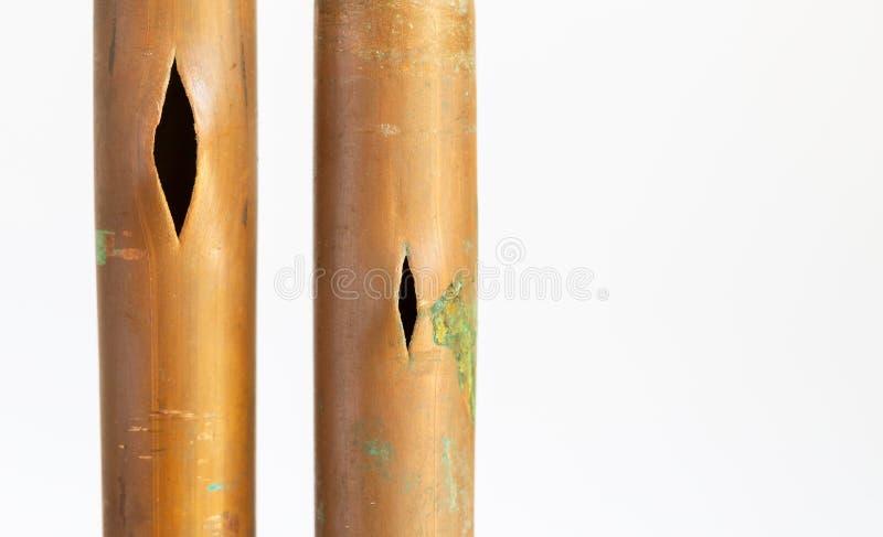Υδροσωλήνας χαλκού έκρηξης στοκ φωτογραφία με δικαίωμα ελεύθερης χρήσης