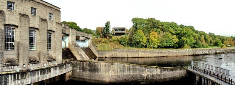 Υδρο ηλεκτρική σκάλα φραγμάτων και ψαριών σε Pitlochry στοκ εικόνες με δικαίωμα ελεύθερης χρήσης