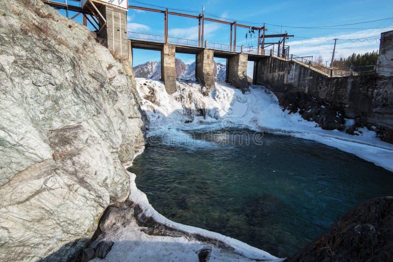Υδρο σταθμός παραγωγής ηλεκτρικού ρεύματος στοκ φωτογραφίες