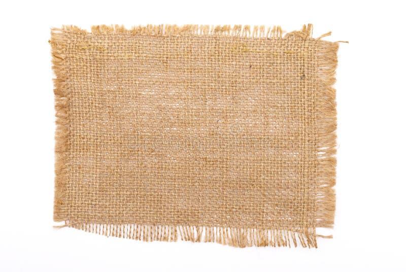υλικό sackcloth στοκ φωτογραφία