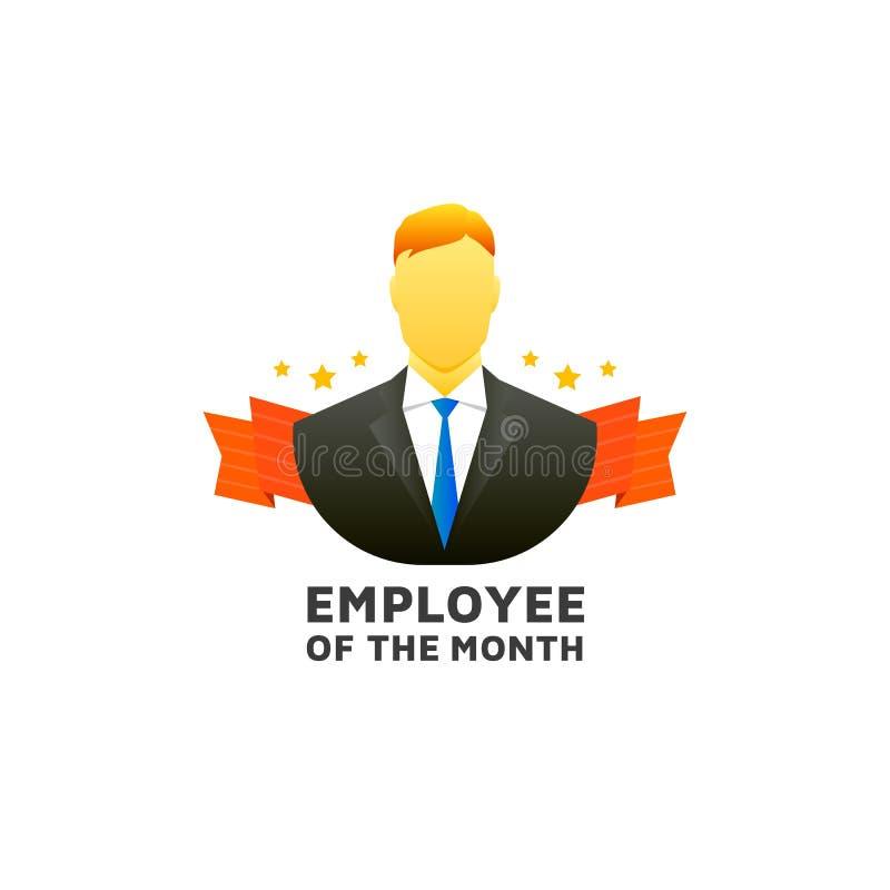 Υπάλληλος του μήνα απεικόνιση αποθεμάτων