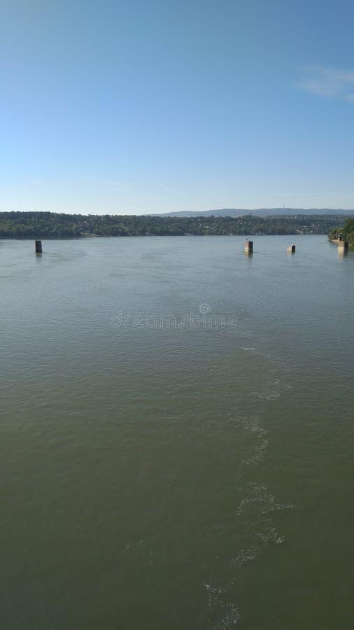 Υπέροχος ποταμός Δούναβη στοκ εικόνες