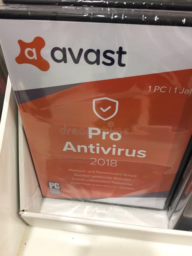 Υπέρ αντιιός Avast στοκ εικόνες με δικαίωμα ελεύθερης χρήσης