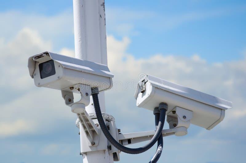 υπαίθρια ασφάλεια φωτογραφικών μηχανών στοκ φωτογραφία με δικαίωμα ελεύθερης χρήσης