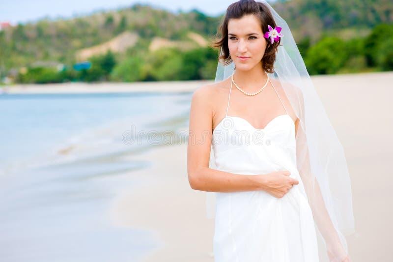 Υπαίθρια νύφη στοκ φωτογραφία με δικαίωμα ελεύθερης χρήσης
