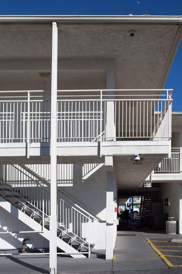 Υπαίθρια συγκεκριμένη σκάλα στοκ φωτογραφίες