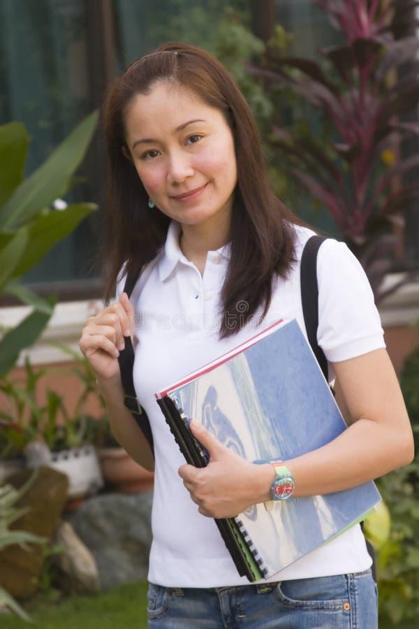 υπαίθριος σπουδαστής στοκ φωτογραφία με δικαίωμα ελεύθερης χρήσης