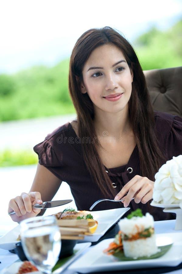 Υπαίθριο γεύμα στοκ εικόνες