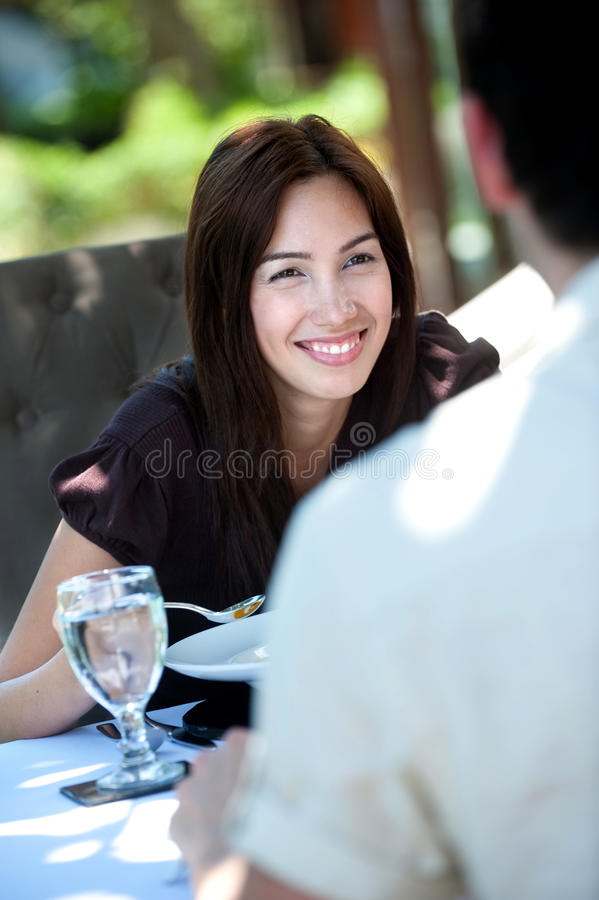 Υπαίθριο γεύμα στοκ φωτογραφίες