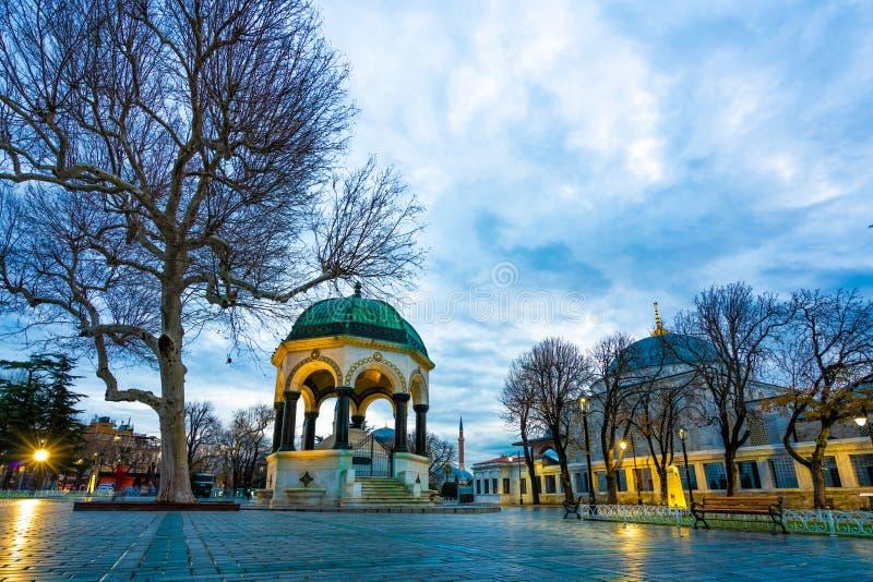 Υπαίθριο τουρκικό στηργμένος πάρκο περίπτερων στοκ εικόνες