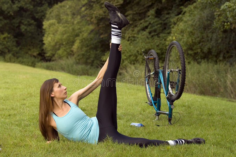 υπαίθριο workout στοκ εικόνες