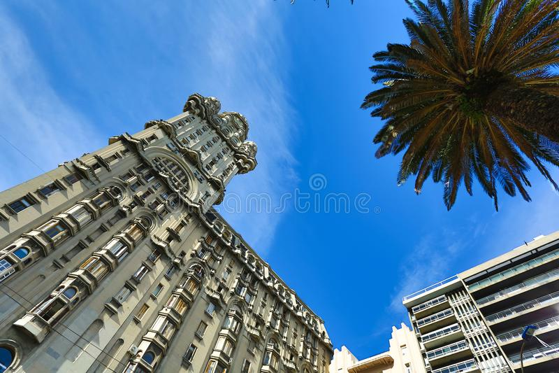 υπεκφυγή palacio του Μοντεβίδ& στοκ φωτογραφία με δικαίωμα ελεύθερης χρήσης