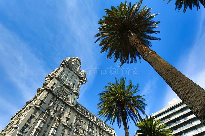 υπεκφυγή palacio του Μοντεβίδ& στοκ εικόνες