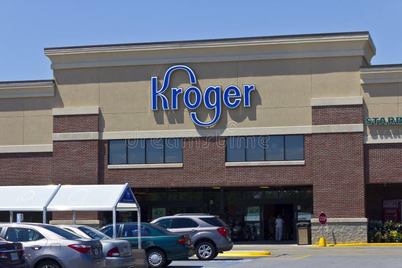 Υπεραγορά ΙΙΙ Kroger στοκ εικόνα