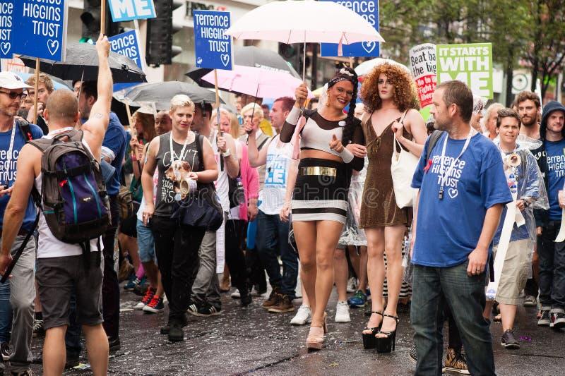 Υπερηφάνεια 2014 του Λονδίνου στοκ εικόνες με δικαίωμα ελεύθερης χρήσης