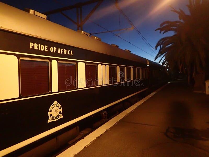 Υπερηφάνεια του τραίνου της Αφρικής στοκ φωτογραφία