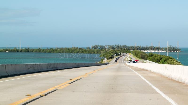 Υπερπόντια εθνική οδός και μακροχρόνιο κλειδί, Florida Keys στοκ φωτογραφία με δικαίωμα ελεύθερης χρήσης