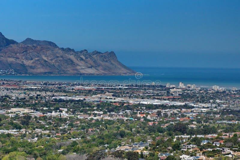Υπερυψωμένη άποψη του σκέλους, Νότια Αφρική στοκ εικόνες