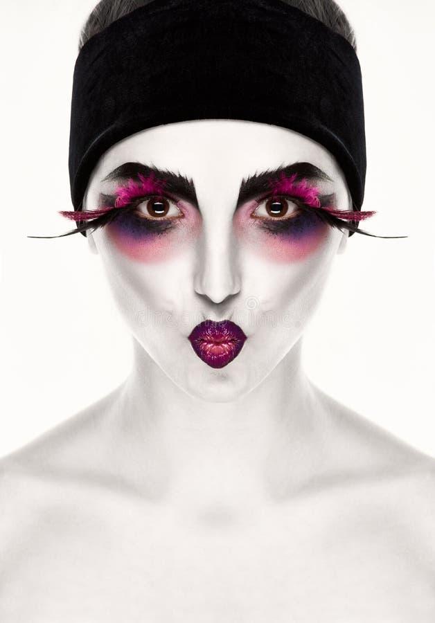Υπερφυσική γυναίκα φαντασίας στοκ εικόνα με δικαίωμα ελεύθερης χρήσης