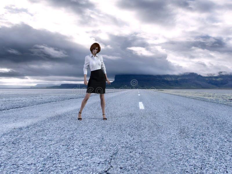 Υπερφυσική επιχείρηση, πωλήσεις, μάρκετινγκ, επιτυχία διανυσματική απεικόνιση