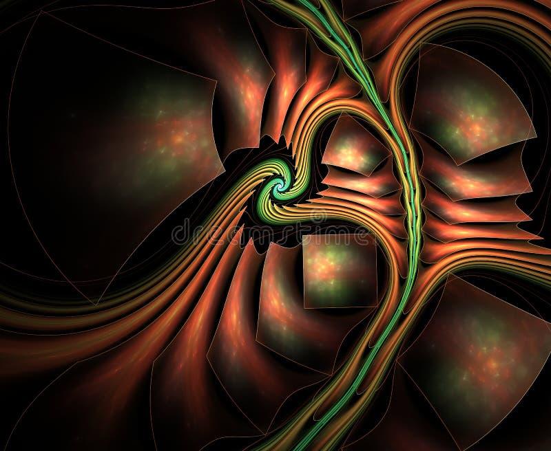 Υπερφυσικό αφηρημένο fractal απεικόνιση αποθεμάτων