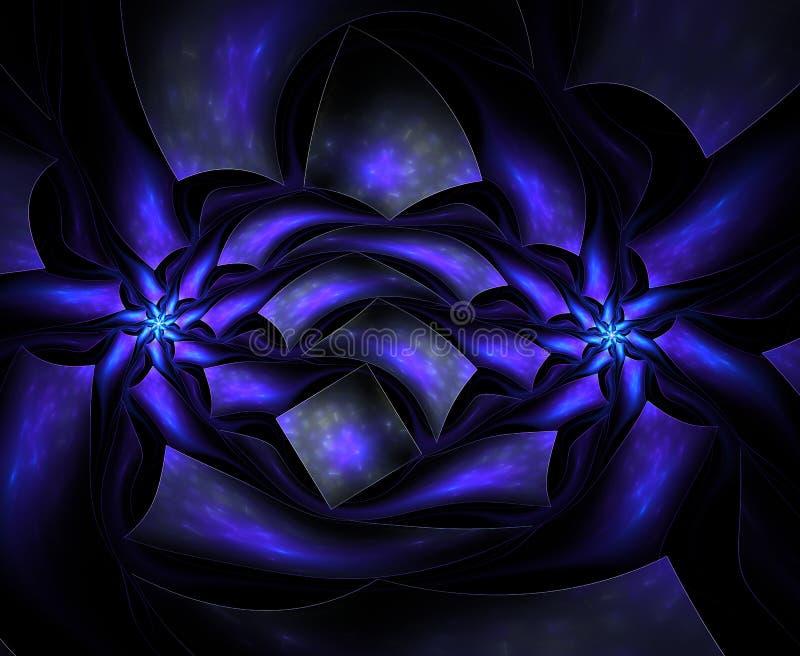 Υπερφυσικό fractal λουλουδιών απεικόνιση αποθεμάτων