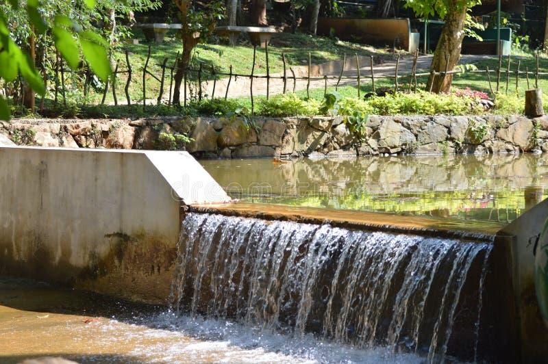 Υπερχείλιση νερού στοκ φωτογραφίες