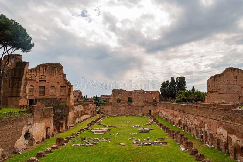 Υπερώιο στάδιο της Ρώμης στοκ φωτογραφία με δικαίωμα ελεύθερης χρήσης