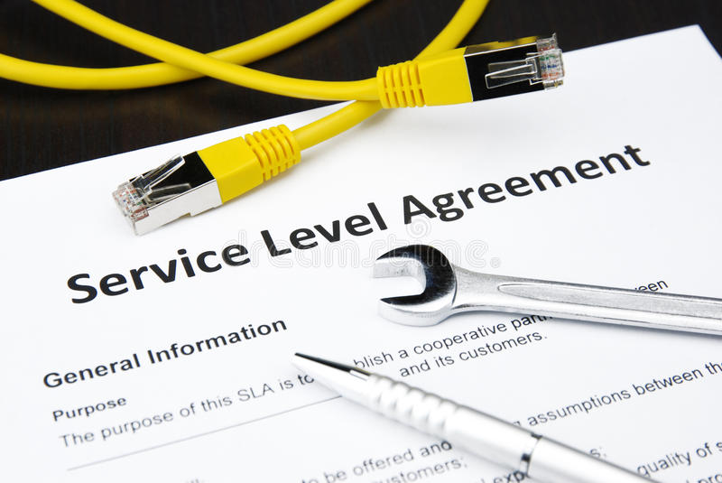υπηρεσία επιπέδων συμφωνίας