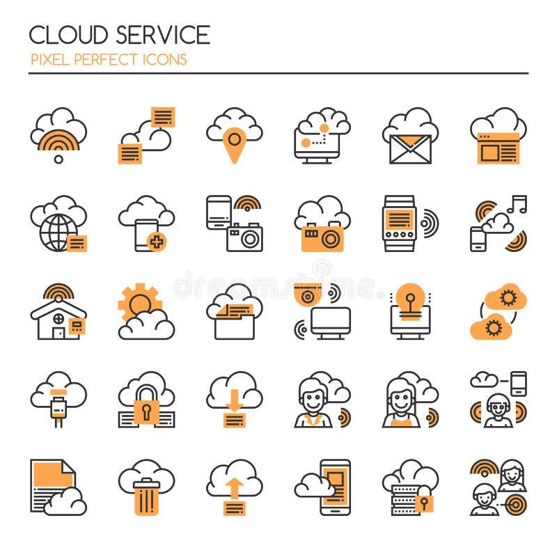 Υπηρεσία σύννεφων απεικόνιση αποθεμάτων