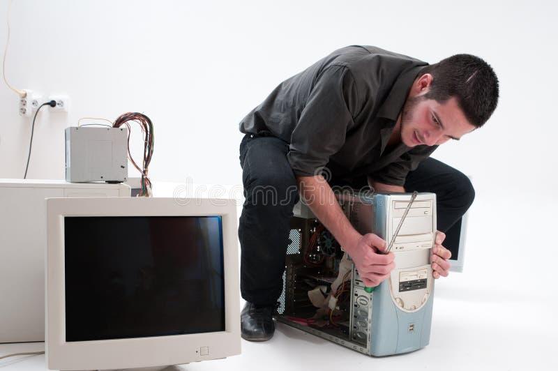 υπηρεσία υπολογιστών στοκ φωτογραφία με δικαίωμα ελεύθερης χρήσης