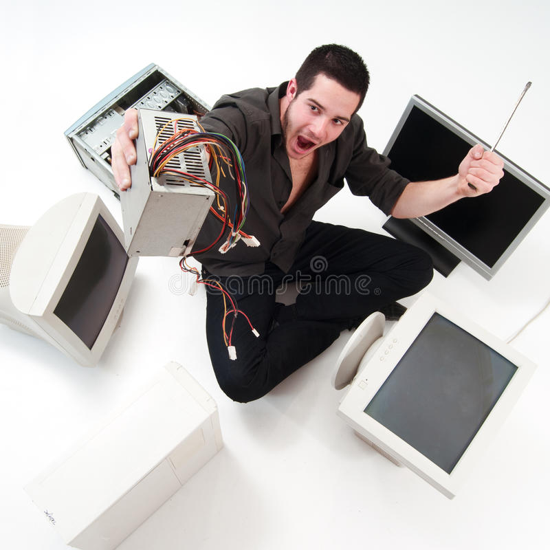 Υπηρεσία υπολογιστών στοκ εικόνα