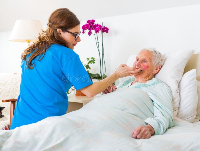 Υπηρεσίες οικιακής φροντίδας στοκ φωτογραφίες