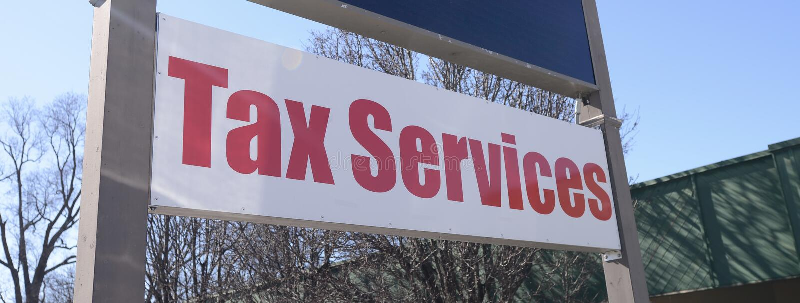 Υπηρεσίες φορολογικών προετοιμασιών στοκ φωτογραφίες με δικαίωμα ελεύθερης χρήσης