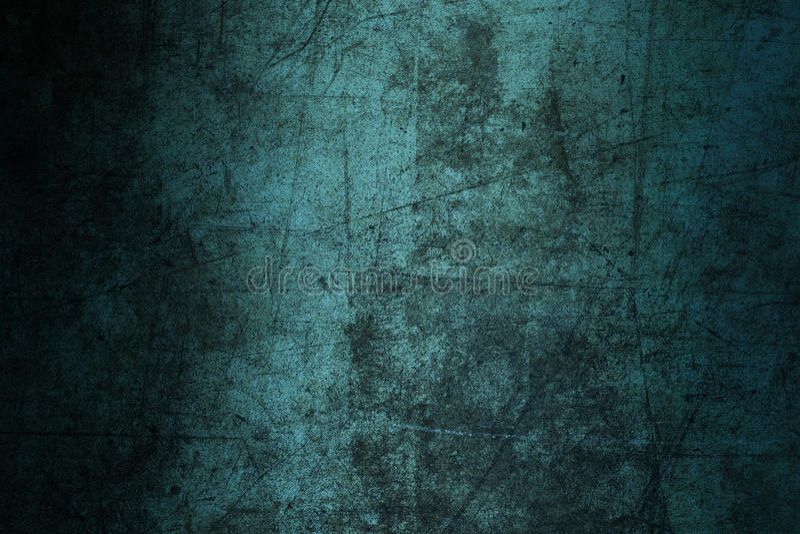 Υποβάθρου περίληψη σύστασης τοίχων grunge που καταστρέφεται μπλε γρατσουνισμένος στοκ φωτογραφία