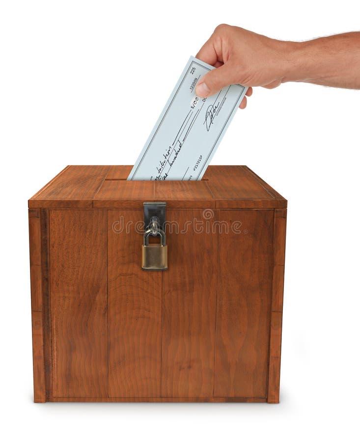 υποβολή της ψηφοφορίας στοκ φωτογραφία με δικαίωμα ελεύθερης χρήσης