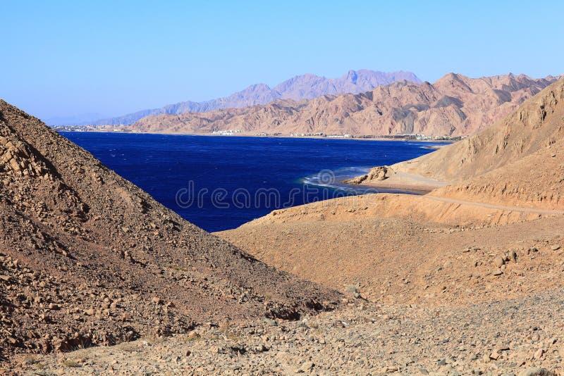 Υποβρύχια μπλε τρύπα σπηλιών στην Αίγυπτο στοκ φωτογραφίες με δικαίωμα ελεύθερης χρήσης