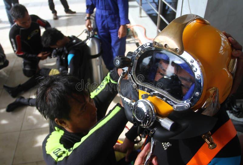 Υποβρύχια υγρή συγκόλληση στοκ εικόνα με δικαίωμα ελεύθερης χρήσης