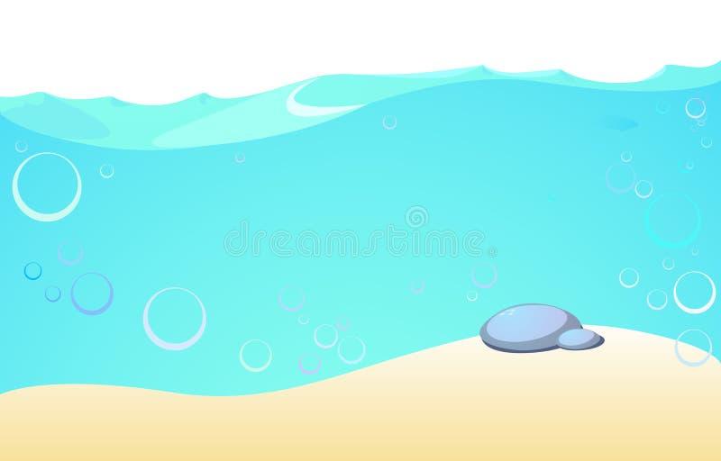 υποβρύχιος διανυσματική απεικόνιση