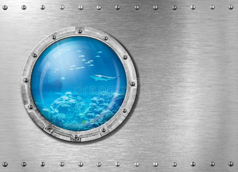 Υποβρύχιο ή bathyscaph παραφωτίδα υποβρύχιο στοκ εικόνες