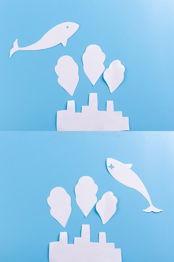 υποβρύχιο εργοστάσιο έννοιας ελεύθερη απεικόνιση δικαιώματος