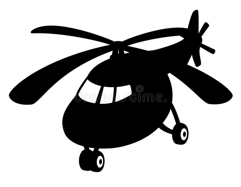 υπογράψτε το διάνυσμα Ελικόπτερο διανυσματική απεικόνιση