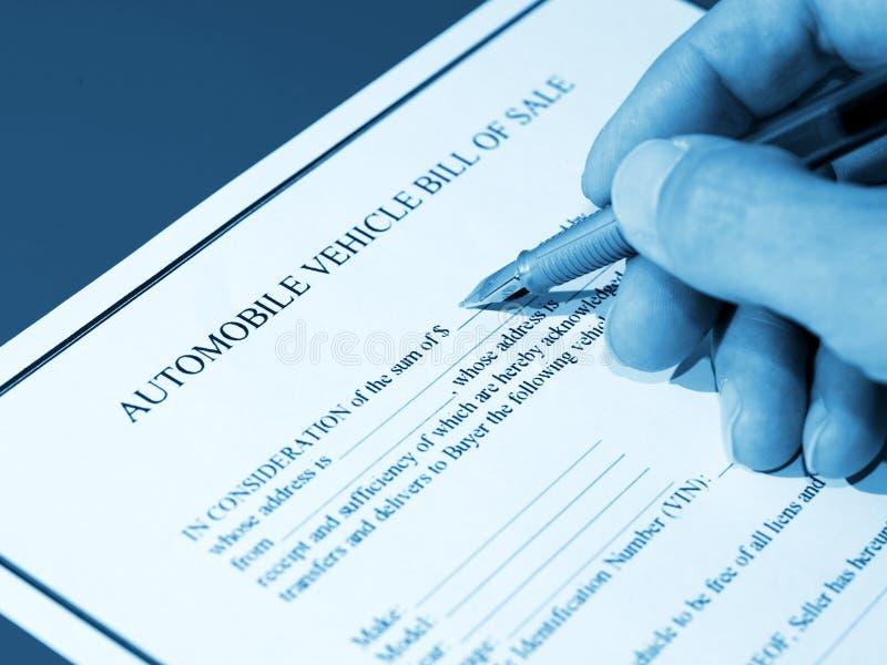 υπογραφή αυτοκινήτων στοκ φωτογραφία με δικαίωμα ελεύθερης χρήσης