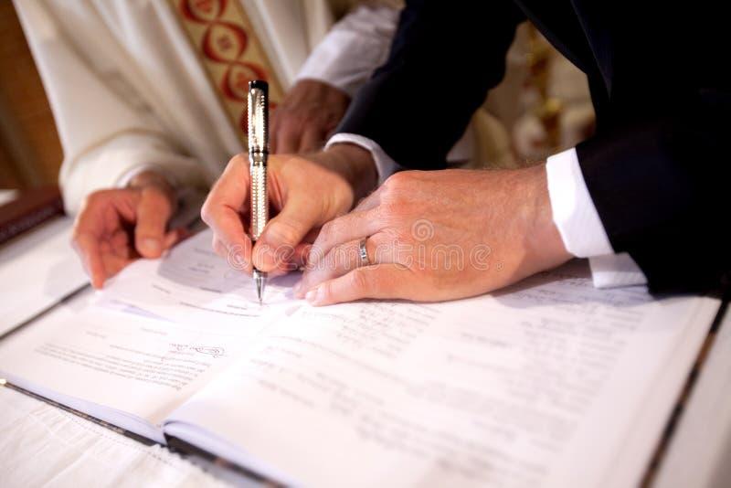 υπογραφή καταλόγων στοκ φωτογραφίες με δικαίωμα ελεύθερης χρήσης