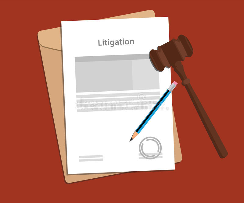 Υπογραφή της νομικής έννοιας της απεικόνισης προσφυγής στο δικαστήριο απεικόνιση αποθεμάτων