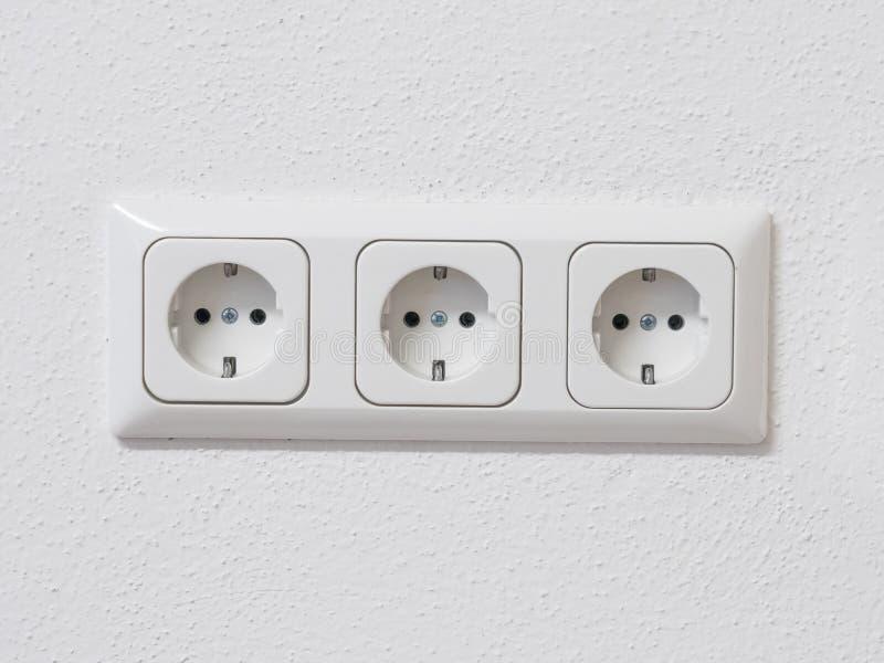 Υποδοχή ηλεκτρικής ενέργειας στοκ εικόνα